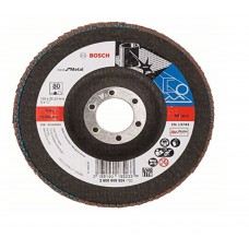 Bosch EN 13743 Flap discs for metal (pack of 5)