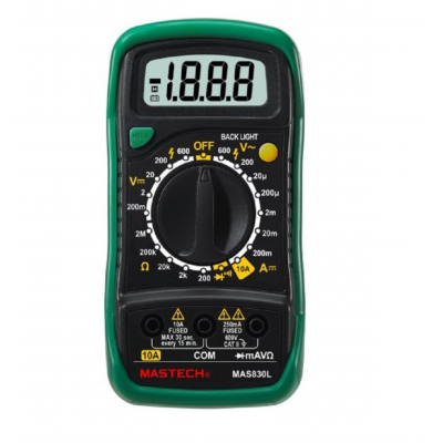 MASTECH MAS830L Digital pocket multimeter