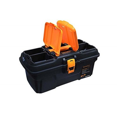 Taparia PTB16 plastic toolbox with organizer
