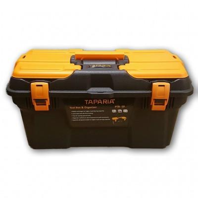 Taparia PTB19 plastic toolbox with organizer