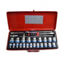 Taparia S-15H X L 1/2-Inch Square Drive Socket Set