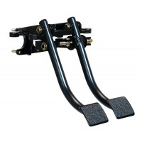 Clutch and brake pedal assembly
