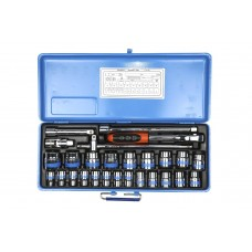 TAPARIA S-23H X L 1/2-INCH SQUARE DRIVE SOCKET SET